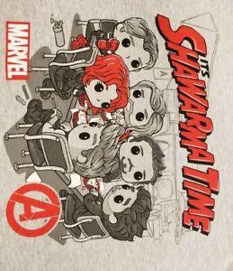 Funko Tee's ! Marvel Collector Corps Infinity Saga / Medium Shirt Shawarma Time