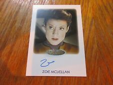 2017 Women of Star Trek 50th Anniversary Zoe McLellan as Tal Celes Autograph