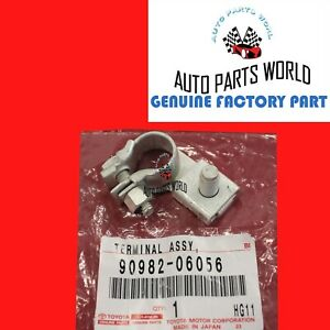GENUINE TOYOTA LEXUS SIENNA GS450h SC430 NEGATIVE BATTERY TERMINAL 90982-06056