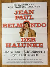Halunke (Kinoplakat '72) - Jean-Paul Belmondo / Mia Farrow / Claude Chabrol