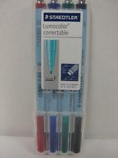 Staedtler Lumocolor Correctable Fine Pen Set 305FWP4