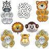Animal Safari Foil Latex Balloons Jungle Happy Birthday Party Decorations Kids