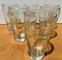 Lote De 6 Cristales Publicidad Cerveza IRLANDÉS Stout