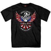 2nd Amendment Patriot USA Eagle America's Original Homeland Security Shirt S1345