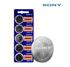 5pcs Sony CR2032 3V Battery Lithium Button Cell Watch Exp 2030