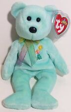 "TY Beanie Babies ""ARIEL"" AIDS FOUNDATION Teddy Bear! PERFECT GIFT! MUST HAVE!"