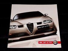 Alfa Romeo 147 GTA prospekt/brochure/folder 2002