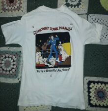 Vintage WWF Honky Tonk Man Misprint Newcastle Sz M 1988 Titan Sports New Other