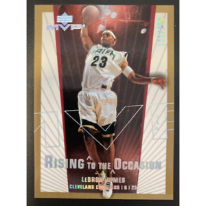 LEBRON JAMES 2003 UPPER DECK MVP RISING TO THE OCCASION RO2 131/250