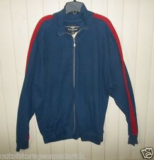 Roger Edward Long Sleeve Blue Sweatshirt Soccer Men's Large