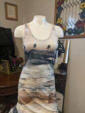 NWT Karen Kane Island Rhythm Palm 🌴 Tree Dress Small. Retail $138.