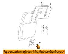 GM OEM Rear Door-Window Motor 19208467