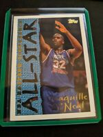 1994-95 Topps SHAQUILLE Shaq O'NEAL #13 ALL-STAR Insert Magic Lakers