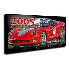 2018 Chevrolet Corvette Zr1 Indy 500 Pace Car Key Hanger Dog Leash Holder