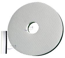 """Hevo-Pro-Line® New-Melamin-Magic-Pad weiß 406 x 90 mm Ø = 16"""""""