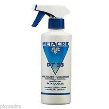 Antigoccia detergente per box doccia cabine in cristallo acrilico  - DT33 500 ml