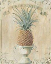 Pineapple Prosperity Jenkins Colonial 8 x 10 Art Print