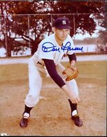 Don Larsen Yankees Autograph 8x10 Photo Jsa Signed