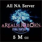 FINAL FANTASY XIV 5000000 GIL FF14 5 Million Gold FFXIV All NA Server PC PS3 PS4