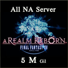 FINAL FANTASY XIV 5000000 GIL FF14 5 Million Gold FFXIV All NA Server PC PS3 PS4