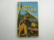 Old Yeller, Fred Gipson, 10th, 1974, Scholastic Paperback