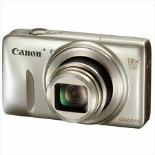 Canon PowerShot SX600 HS 16MP Digital Camera (Gold)