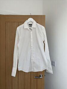 "Mens Hugo Boss 16.5"" Collar Shirt Size 42"
