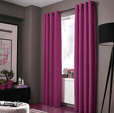 "100% Blackout Panels Heavy Thick Grommet Window Curtain 1 Set Many Colors 84""L"