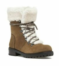 UGG FRASER CHESTNUT BROWN LACE UP BOOT WOMEN'S SIZE 7 $195 + NEW