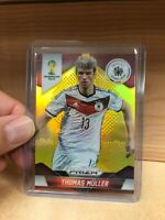 2014 Panini World Cup Prizm THOMAS MULLER #93 SSP Gold /10! GERMANY