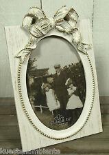 Bilderrahmen cremeweiß Antik Stil Vintage  Fotos 10 x 15cm Clayre & Eef  Nr. 67