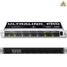 Behringer Ultralink Pro MX882 8-Channel Splitter Mixer l USA Authorized Dealer
