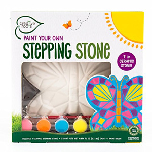 Creative Roots Paint Your Own Mosaic Butterfly Stepping Stone by Horizon Group