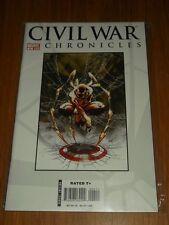 CIVIL WAR CHRONICLES #4 MARVEL COMICS