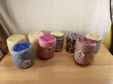 New ListingLot of 8 GlobeIn Handmade Palm Leaf Weave Basket New W/ Tag Oaxaca Mexico