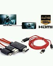 2M MICRO USB MHL a HDMI 1080P TV HD Cavo Adattatore per Samsun S3 S4 S5 Note 2/3