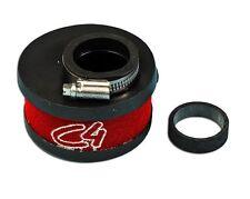 0014063 R Filtro aria rosso per carburatori Ø 19-21-24 C4 0
