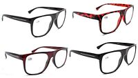 TN09  Retro Oversized Fashion Reading Glasses with Metal Hinges +1.0+1.5+2.0+2.5