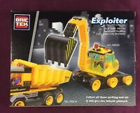 Brictek Exploiter Construction Backhoe Tractor Truck 151 Pcs J5682A Brand New