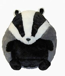 Cozy Time 30cm Badger Hand Warmer Giant Soft Plush Cuddly Toy Giant Animal