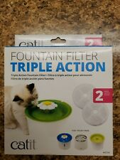 Triple Action Flower Fountain Replacement Water Softening Filter 43745