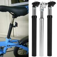Bike Cycling Bicycle Seat Post Tube Seatpost Hydraulic Suspension 27.2mm 31.6mm