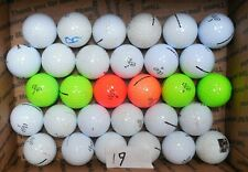 30 RED  GREEN WHITE MOSTLY NEAR MINT VICE GOLF BALLS