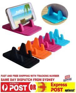 Anti-slip Car Silicone Phone Holder Mat Pad Dashboard Stand Mount Bracket