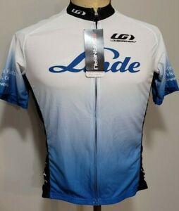 Louis Garneau Mens Short Sleeve Full Zip Cycling Jersey XS NEW NWT
