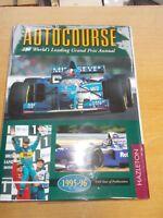 Autocourse 1995-96: The World's Leading Grand Prix Annual F1 Alan Henry