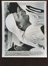 Original March 3 1965 Mickey Mantle Battle The Heat 8 X 10 Wire Photo