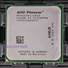 AMD Phenom X4 9600 HD9600WCJ4BGD CPU Processor 1800 MHz 2.3 GHz Socket AM2