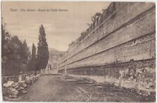 TIVOLI - VILLA ADRIANA - AVANZI DEL PECILE ATENIESE (ROMA) 1921