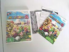 Mario Party 8 Nintendo Wii genuine aus pal